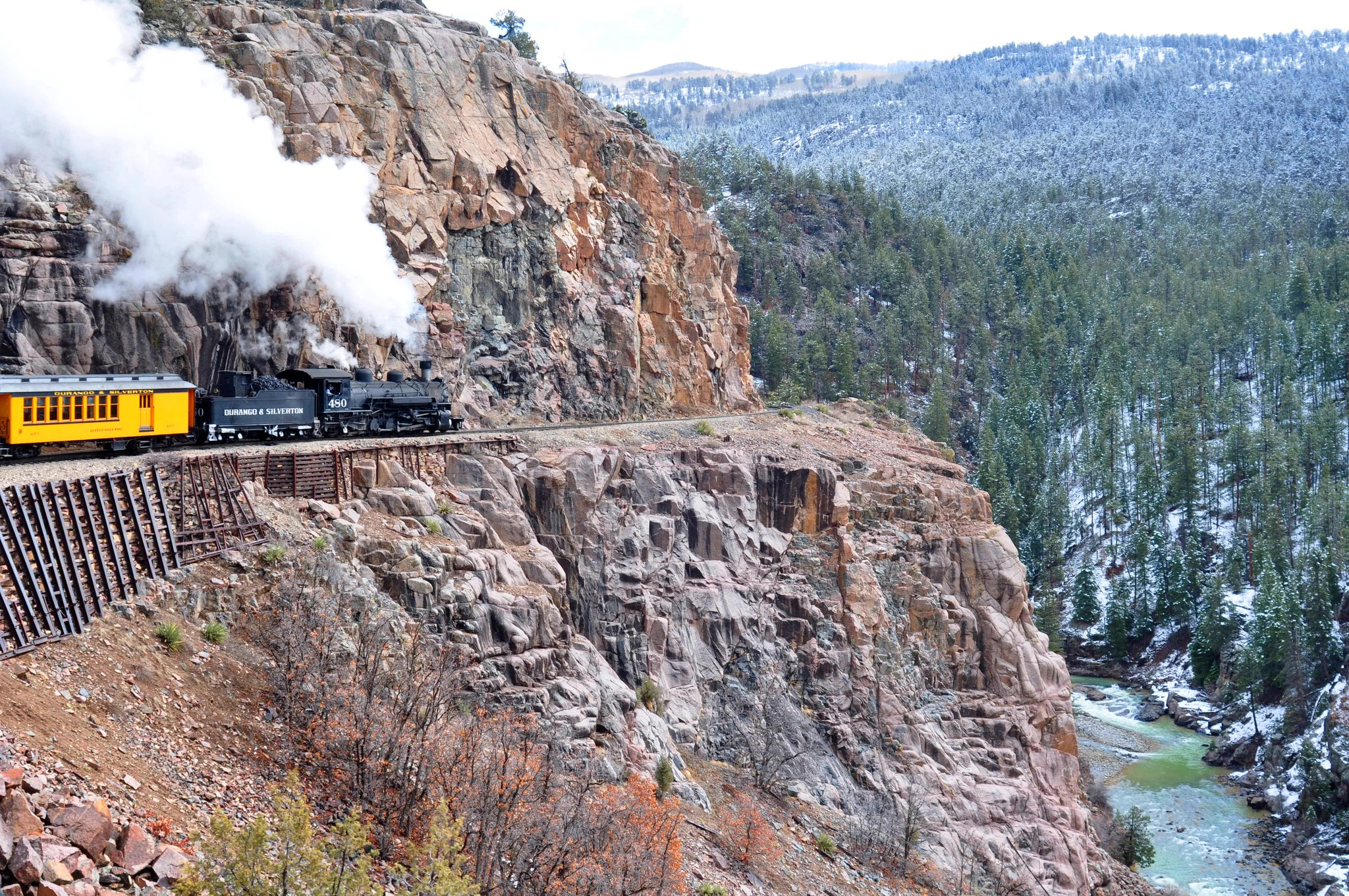 Train And Lodging Package Discounted Durango Train