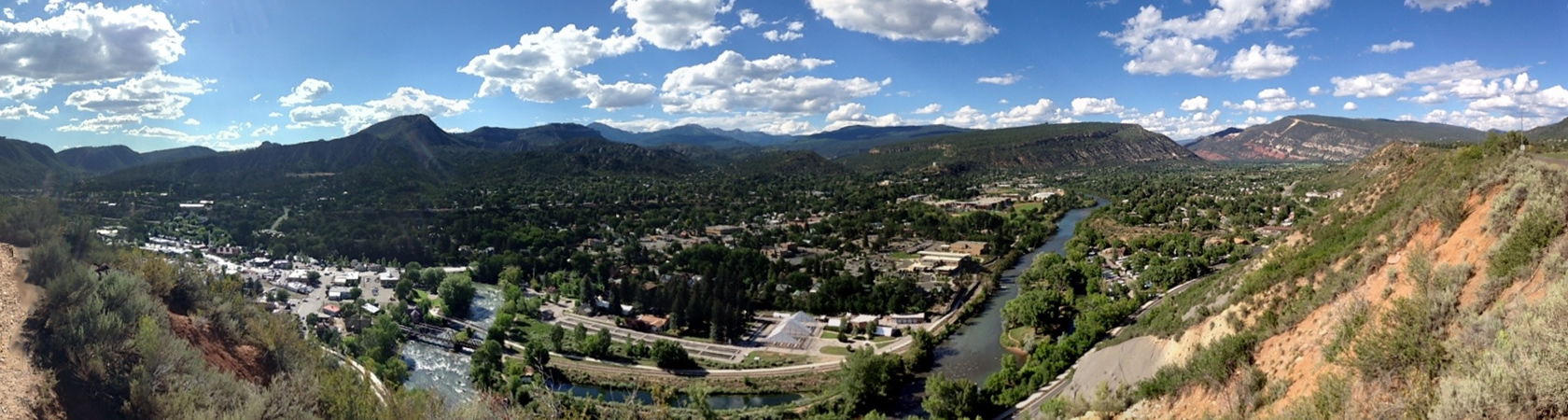 Durango Panoramic Animas Valley