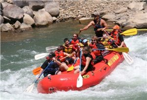 Rafting on the Lower Animas River