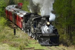 The Cumbres and Toltec 487 engine