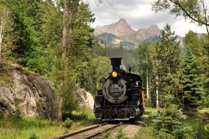 Durango & Silverton Railroad Train