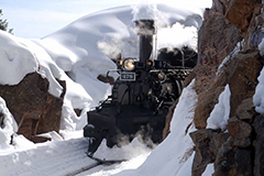 Durango Winter Train Package