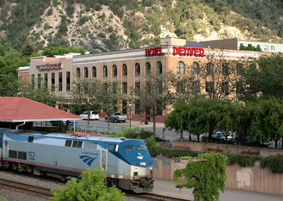 Hotel Denver with Train