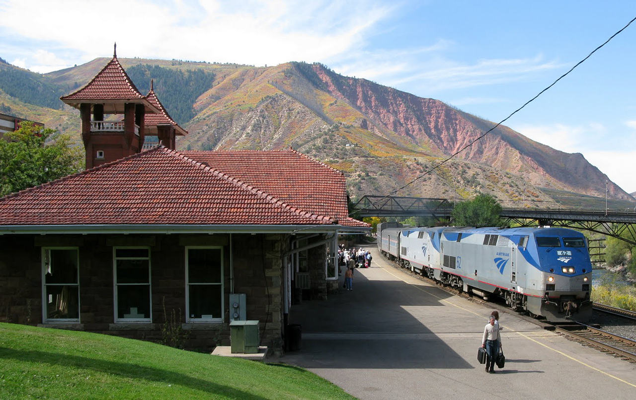 Riding In Style Aboard The Amtrak To Glenwood Springs