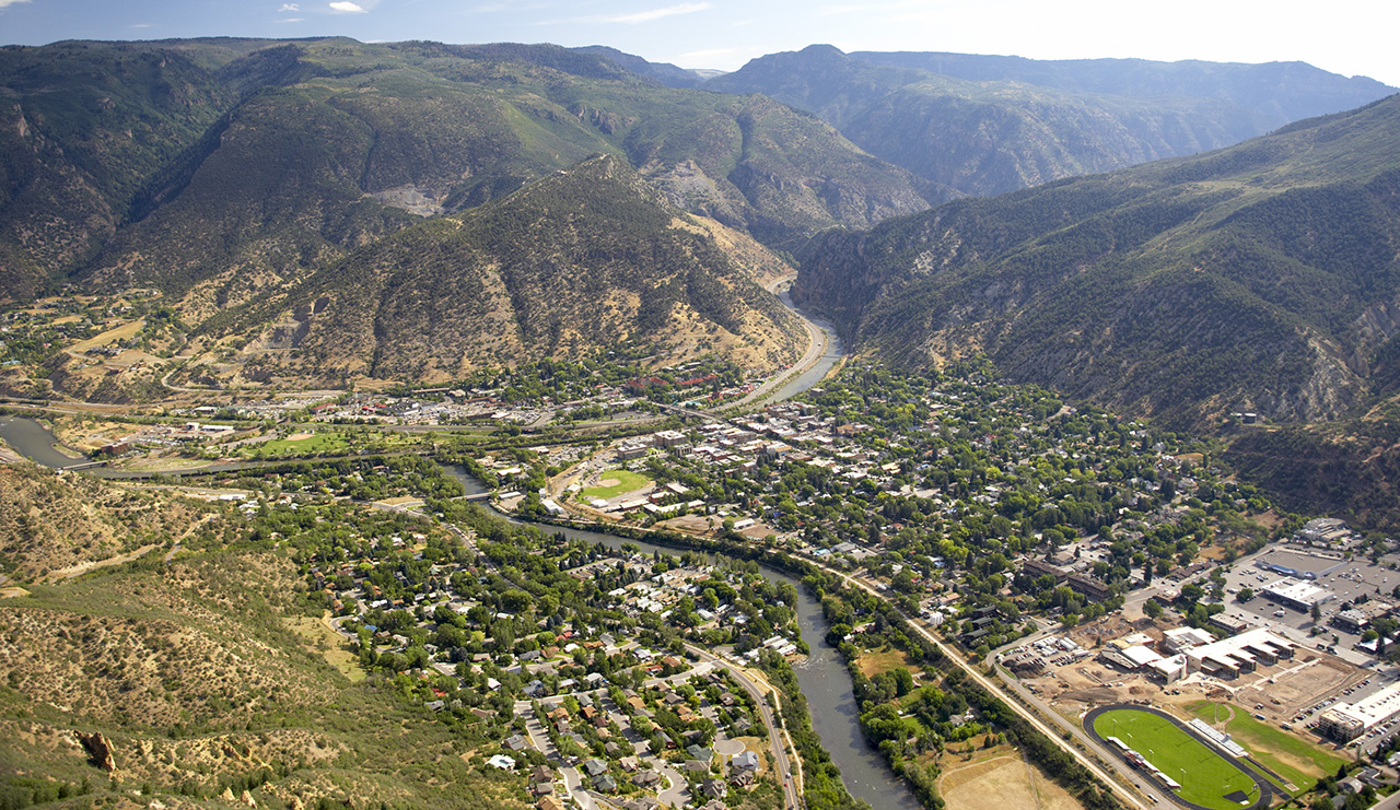 Glenwood Springs Aerial
