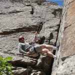 Rock Climbing Rappelling
