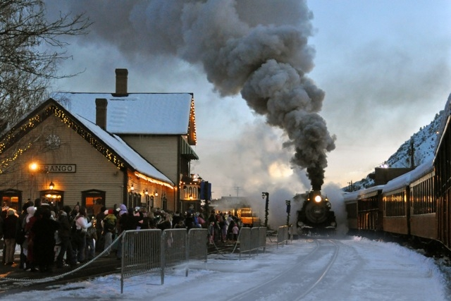 Durango Train, Polar Express, Photo Courtesy of DATO