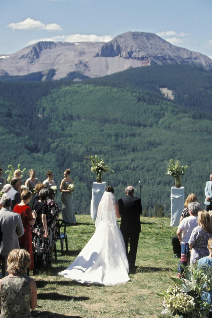 Wedding at Purgatory Mountain Resort