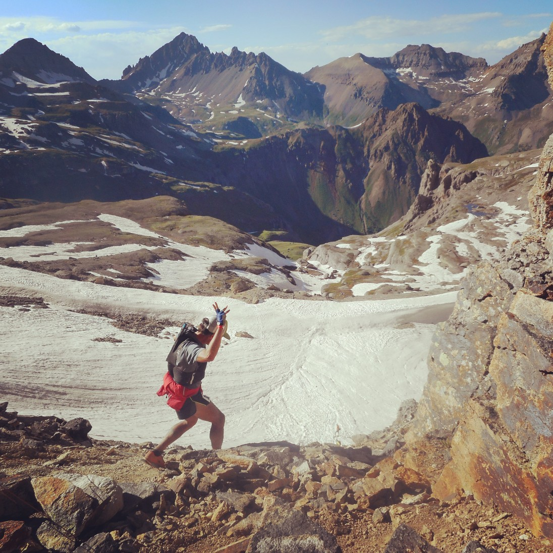 Hardrock 100, race photo