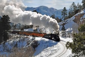 Cascade Canyon Winter Train