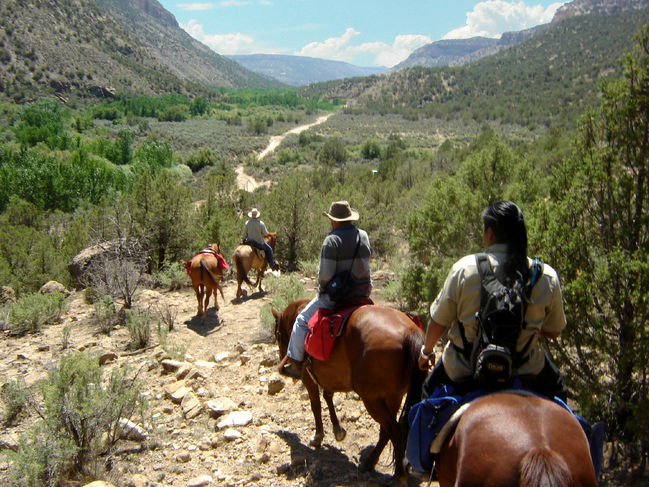 Horseback Riding in Colorado