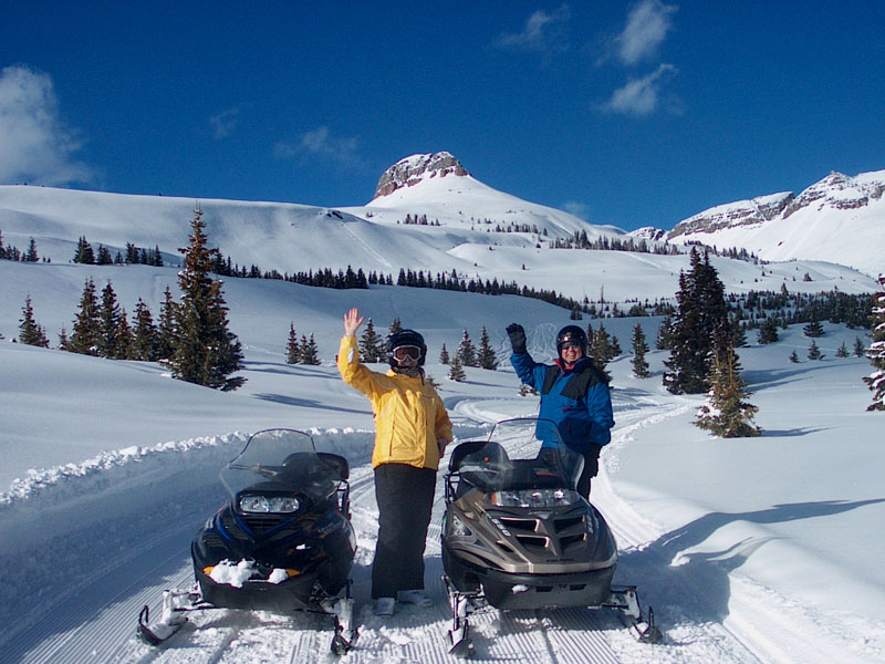 Ice Pirates Snowmobile Tours